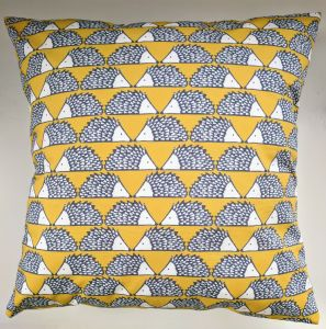 Cushion Cover in Scion Little Spike the Hedgehog